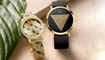 Guess Watches – BLACK & GOLD